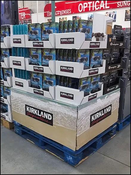 Kirkland Signature Branded Sunglass Pallet Display 3