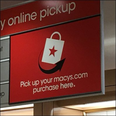 Macy's Buy Online Pickup Counter