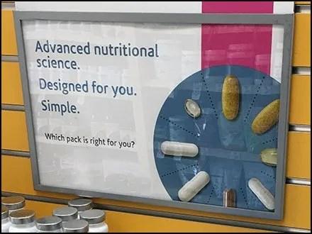 Nutrition Endcap Category Definition