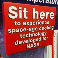 NASA Office Chair Seat Cooling Try-Me