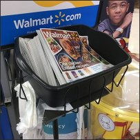 Online Order Pickup Literature Holder Tote