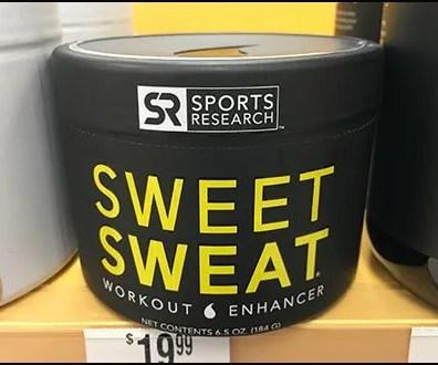 Sweet Sweat Branding At The Shelf-Edge