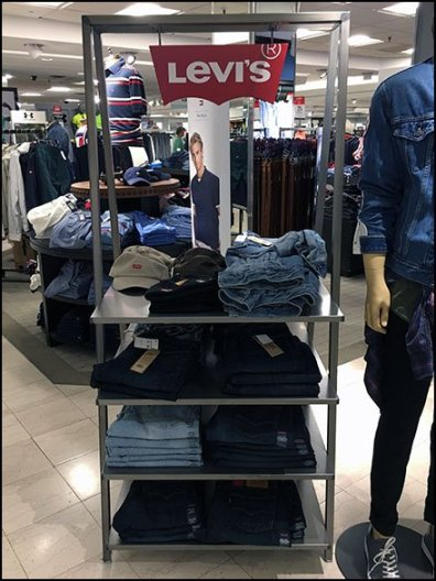 Triangle Shelf Unit Branded By Levi's