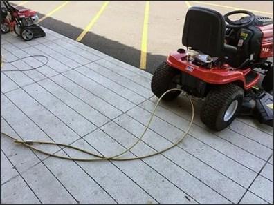 Troy-Bilt Garden Tractor Anti-Theft Lockdown