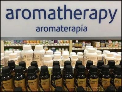 Vitamin Shoppe Aromatherapy Tester Lineup 1