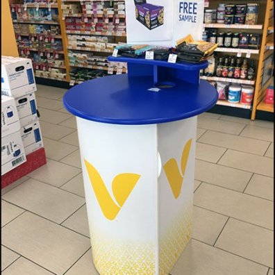 Free Sample Try-Me Table At Vitamin Shoppe