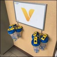Shaker Cup J-Hook Sign At Vitamin Shoppe
