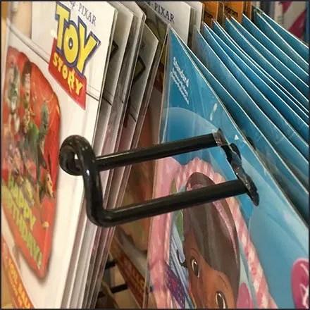 Balloon Loop Hook Spinner Rack Detail In Closeup
