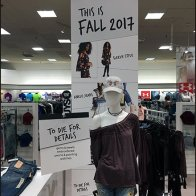 Bon-Ton Fall Fashion To Die For Display