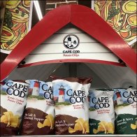 Cape Cod Potato Chips Rowboat Display