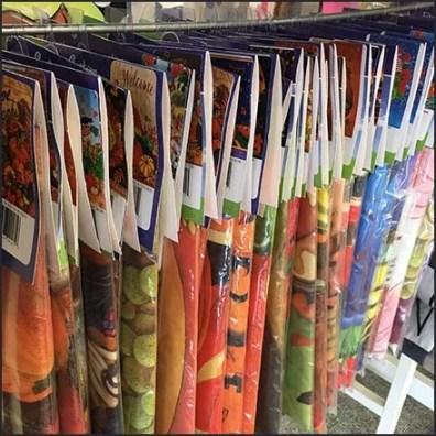 End-of-Season Lawn Flag Merchandising