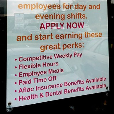 Dunkin Donuts Now Hiring With Benefits Feature