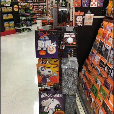 Hallmark Halloween Mobile Grid Display