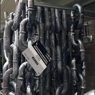Halloween Chain Merchandising by Utility Hook