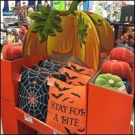 Halloween Throw Pillow Pallet Display Feature