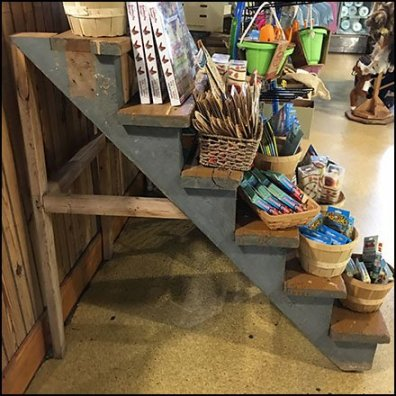 How To Outfit A Stairway Display Square1