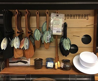 Jonathan's Handcrafted Utensils Display