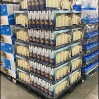 LED Wax Candle Pallet Display Merchandising