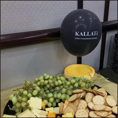 Littman Diamond Party Kallati Buffet Table
