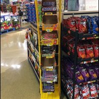 M&M's Character Curved Tower Display