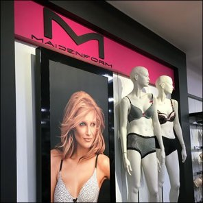 Maidenform Bra Department Branding Feature