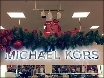 Michael Kors Christmas Holiday Bough