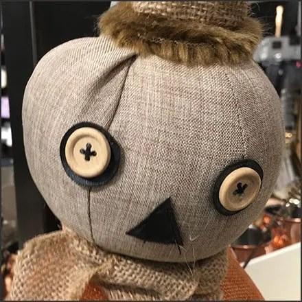 Nordstrom Handcrafted Halloween Pumpkin Head Doll Hero Feature