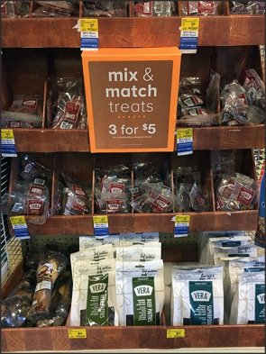 Three-Fer Endcap of Treat Shoppe Mix & Match