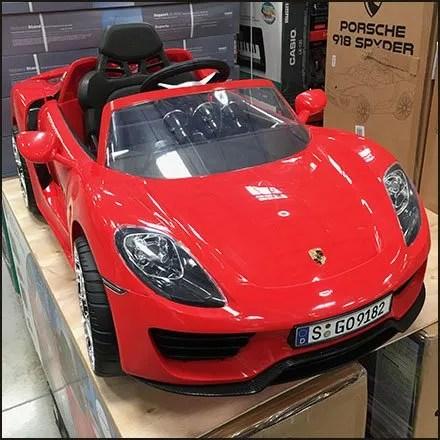Porsche 918 Spyder Warehouse Club Merchandising Feature