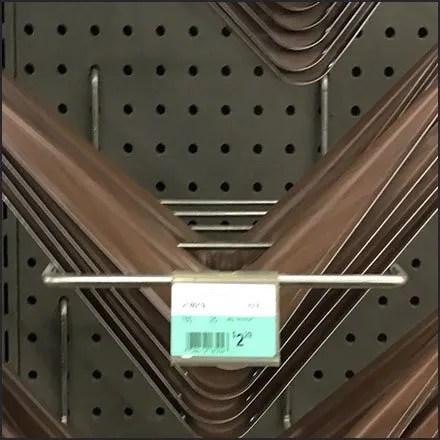 Shelf Bracket Pegboard Hooks Feature