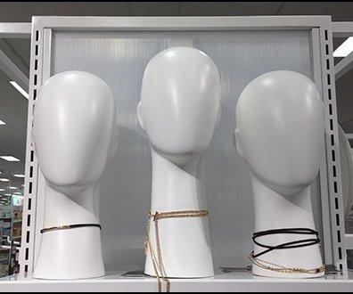 Simple Headform Elegance For Fashion Jewelry