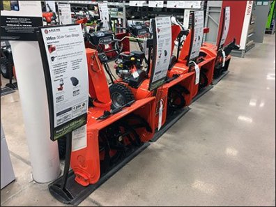 Seasonal Snow Blower Lineup and Rundown
