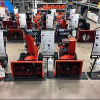 Snowblower Lineup Signs 3