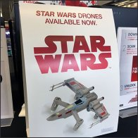 Star Wars Drones Draped Display for Table-Top