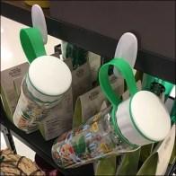 Water Bottle Merchandising by Command Strip