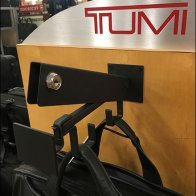 Tumi Locking J-Hook Security Faceout