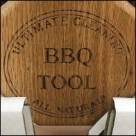 Ultimate Wood BBQ Tool For Grilling Promo