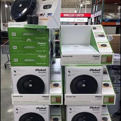 iRobot Roomba 805 Vacuum Pallet Merchandising