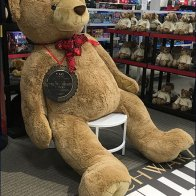 FAO Schwarz $1,000 Teddy Bear in XL Size