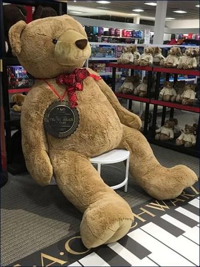 FAO Schwarz $1,000 Teddy Bear in XL Size