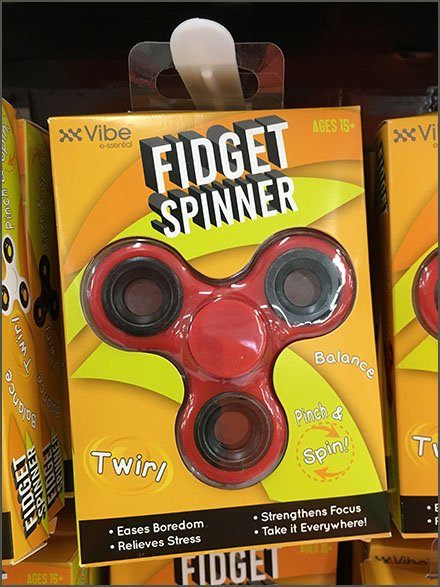 Fidget Spinner PowerWing Merchandising