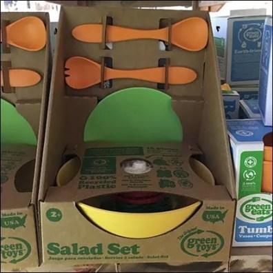 Green Salad Set Square