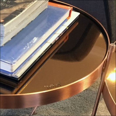 Karen Miller Flagship Copper Coffee Tables