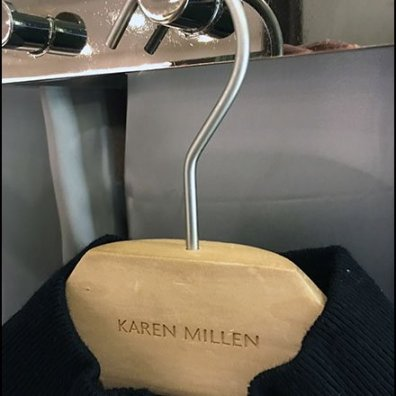 Karen Millen Fitting Room Dazzle Display