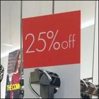 Door Hanger Discount At Karen Millen Flagship