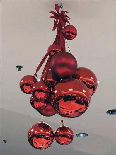Christmas Ball Ornament Ceiling Decoration at Macys