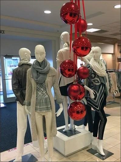 Macys Christmas Ball Ornaments Ceiling-to-Floor