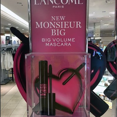 Lancome Mascara Upright Museum Case