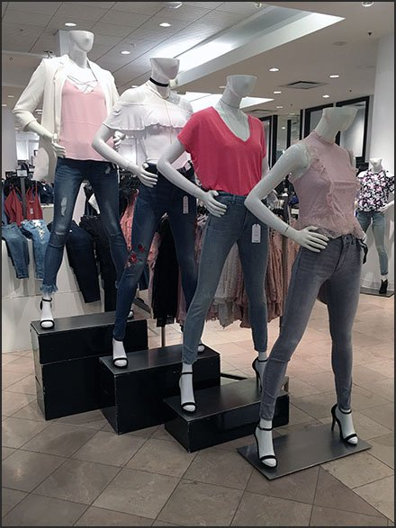 Stackable Corrugated Pedestal Display At Macys