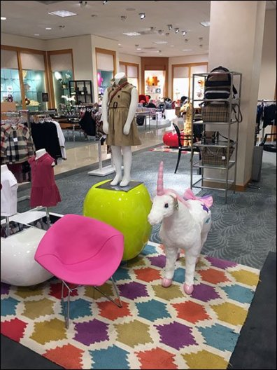 Plush Unicorn Plaything In Children's Apparel